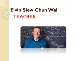 Ways to Increase Student Engagement by Elvin Siew Chun Wai