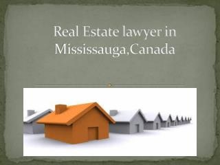 Best Real estate lawyer in Mississauga