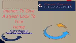 Carpet Cleaning Philadelphia
