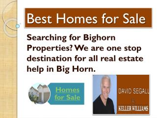 big horn homes for sale