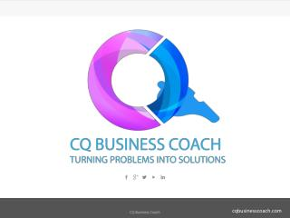 CQ Business Coach - Professional Business Coaching