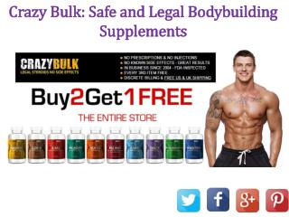 Crazy Bulk  @ http://www.healthboostup.com/crazy-bulk-reviews/