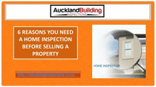 6 Reasons You Need A Home Inspection Before Selling A Property