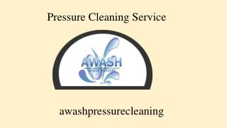 High Pressure Cleaning Melbourne