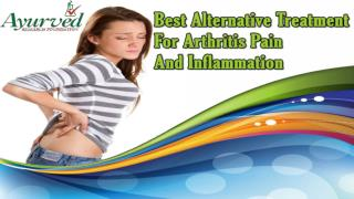 Best Alternative Treatment For Arthritis Pain And Inflammation