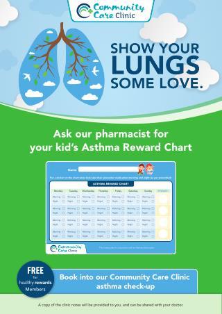 Asthma Reward Chart