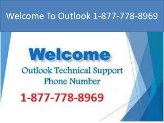Instant Help On 1-877-778-8969 Outlook Tech Support Phone Number
