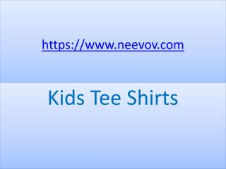 Kids Purple Colour Tee Shirts with Cotton