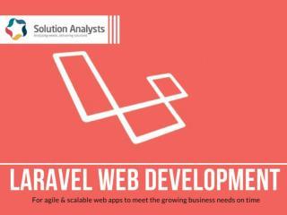 Laravel Web Development Services