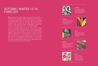 Trend Forecast Autumn/Winter 15-16
