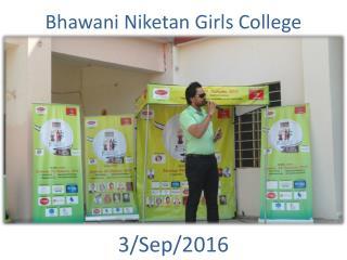 Bhawani Niketan College Activity