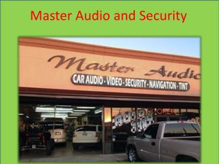 Master Audio and Security