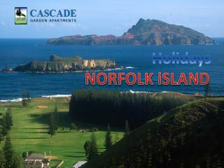 Holidays Norfolk Island