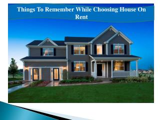 Houses to Rent in Noida