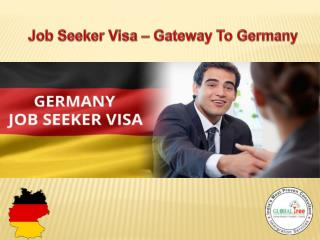 Germany Job Seeker Visa