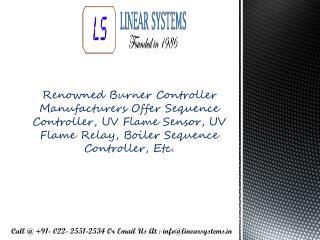 Burner Controller Suppliers Maharashtra