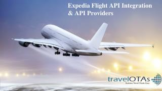Expedia Flight API Integration & API Providers
