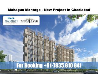 Mahagun Montage Crossing Republik Gives You Best Option to Buy Home