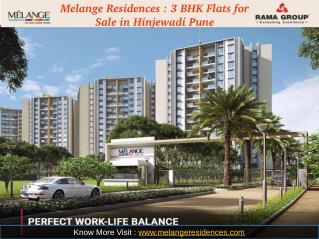 Melange Residences : 3 BHK Flats for Sale in Hinjewadi Pune