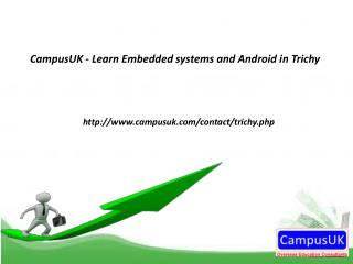 Learn Embedded systems & Android in Trichy