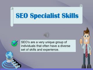 SEO Specialist Skills