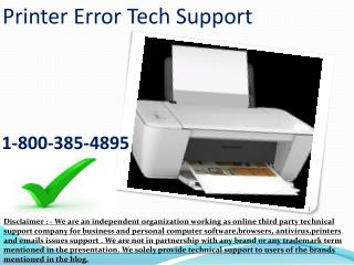 1-8OO.385.4895 HP Printer Issue Helpdesk Phone Number