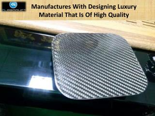 Manufactures With Designing Luxury Material That Is Of High Quality