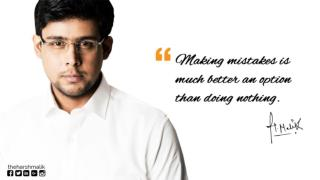 Best Life Quote by Career Counselor Harsh Malik