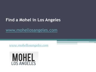 Find a Mohel in Los Angeles - www.mohellosangeles.com
