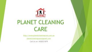 Planet Cleaning Care