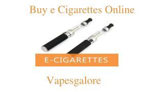 Nicotine Free E Cig