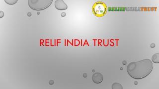 relif india trust volunteers