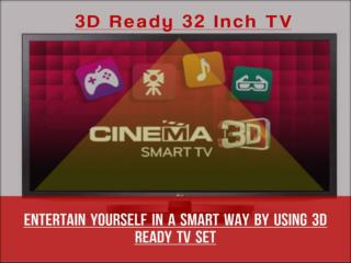 Flat 32 Inch TV | Choose From Top Brands | Best Comparison Option!