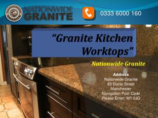 Granite Kitchen Worktops by Nationwidegranite.co.uk