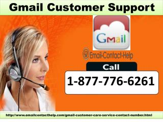 Gmail Customer Support dial 1-877-776-6261 for Help to Create new Gmail account
