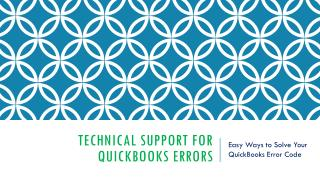 Tech Support For Quickbooks Errors -1844-827-3810
