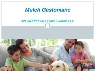 Mulch Gastonianc - Apluslawnandlandscapinginc.com