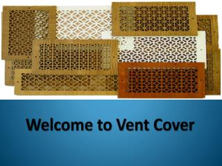 Boxed Vent Cover