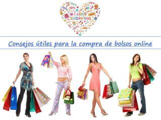 Consejos útiles para la compra de bolsos online