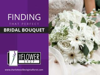 Discover your Ideal Bridal Bouquet with these Tips