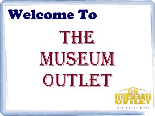 The Museum Outlet Pdf