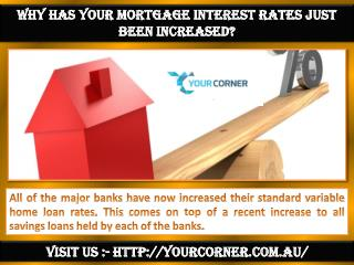 Aussie mortgage brokers - Your Corner