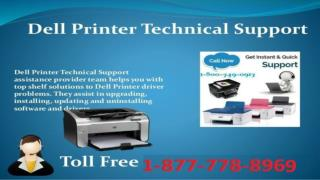 Instant #Solution ((1-877-778-8969)) Dell Printer Customer Service Phone Number