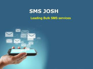 bulk sms services in hyderbad -  SMSJOSH