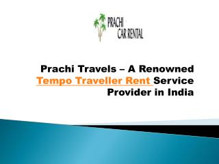 Hire Tempo Traveller in Delhi with Cheaper Price