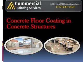 Concrete Floor Coating in Concrete Structures