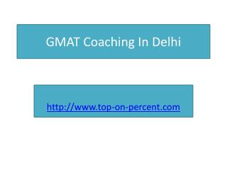 GMAT Coaching In Delhi