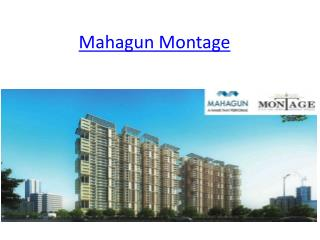 Mahagun Present New Project Mhagun Montage at Crossing Republik Ghaziabad