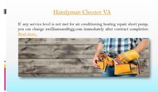 handyman chester VA