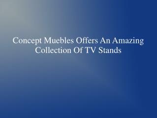 Concept Muebles